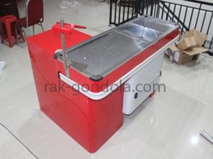 Meja kasir express jual rak gondola minimarket murah for Jual kitchen set aluminium