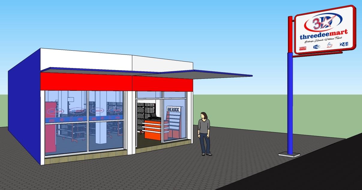 Potensi Pasar Membangun Usaha Minimarket   Jual Rak ...