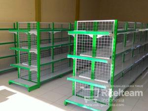 Rak Minimarket Kota Kediri